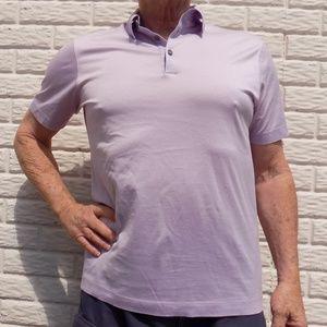 9fda23ec Hugo Boss Shirts | Mens Light Pink Short Sleeve Polo Shirt | Poshmark